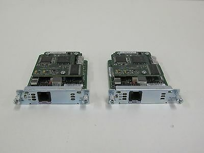 2 x CISCO HWIC-1ADSL. 90 DAY WARRANTY. FREE UK SHIPPING
