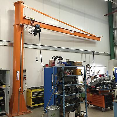 Jib Crane complete with DEMAG Electric Chain Hoist - 250 kg