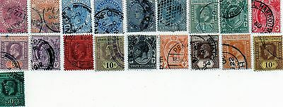 commonwealth stamps, straits settlements victoria to george v