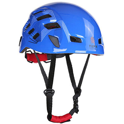 Safety Rock Climbing Downhill Rescue Helmet Rappelling Protector Gear Equipment