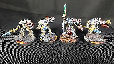 Grey Knights Terminators Warhammer 40000 40k Paladin Painted Expertly Converted
