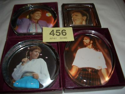 4 x Boxed  Cliff Richard Memorabilia Paper Weights  (ref 456)