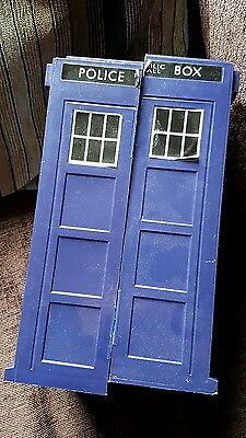 Dr Who large police box Tardis for collector's cards