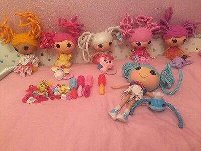 Lalaloopsy Silly Hair Bundle Of 6 Dolls