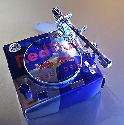 Red Bull can dj turntable 1210 technics