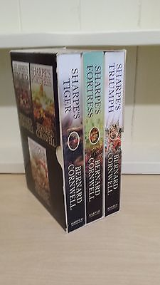 Collection of 3 x Paperback Books by Bernard Cornwell - Sharpe Series