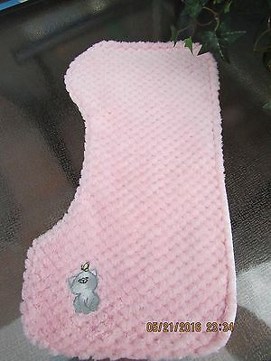 Handmade burp cloth - contoured, Ultra soft and absorbent  pink with Kitten