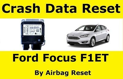 Airbag Reset Service For Ford Focus With F1ET Modules
