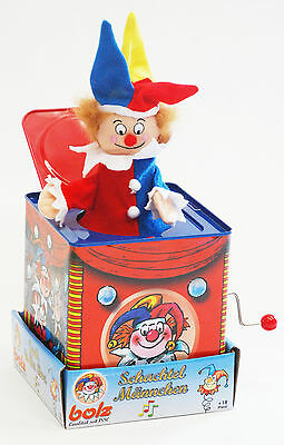 BOLZ Musical Jack in the Box Clown Jester