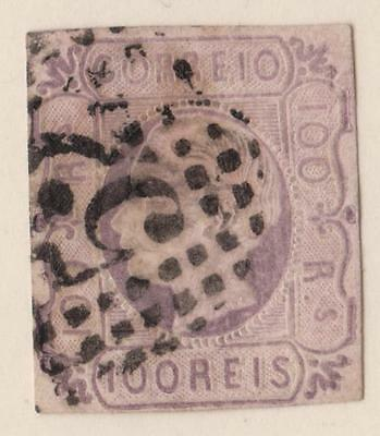 PORTUGAL- N°: 17 - obliteration - beautiful stamp  catalog : 100 €