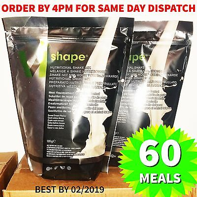 2 x Body by Vi Shape Mix 60 Servings Best Weight Loss Meal Replacement Shake