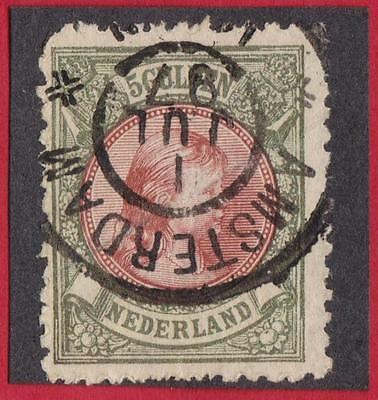 PAYS BAS N°:48 -5.gbronze and yellow brown   - beautiful stamp  catalog :480 €