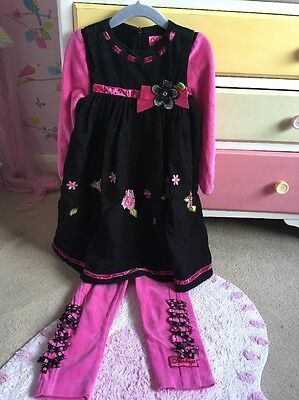 Little Darlings Designer Girls Outfit Age 3