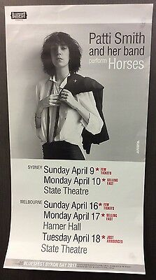 Patti Smith And Her Band Perform Horses Australian Tour April 2017