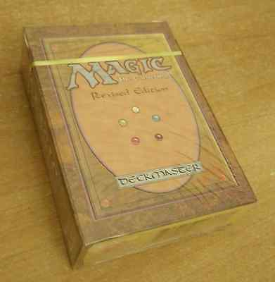 Starter Deck MAGIC ✰✰ REVISED ✰✰ SEALED english dual land ✰✰✰ INVESTMENT ✰✰✰