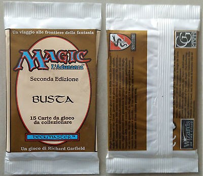 Magic ✰✰✰ european unlimited booster pack ✰✰✰ bustina 2° italiana - INVESTMENT