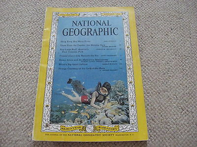 National Geographic January 1962