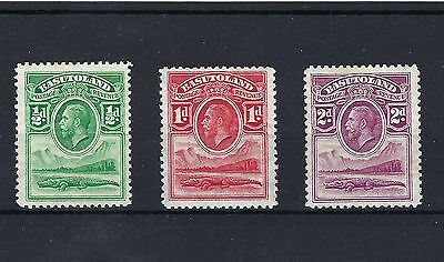 Basutoland 1933 KGV FIRST  STAMPS - SG 1-3. Sc 1-3. SEE SCAN LIGHTY MOUNTED MINT