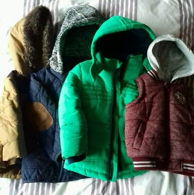 boys winter coats and gillette age 6m to 2 yrs
