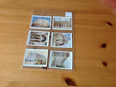 cigarette cards.Wills. Modern architecture. Full set. good condition.