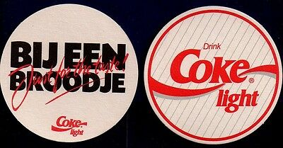 Coca Cola Light - Coaster From The Netherlands Me14044