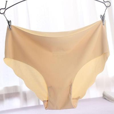Women Sexy Underwear Thong Cotton Spandex Gas Seamless Crotch Invisible Knickers