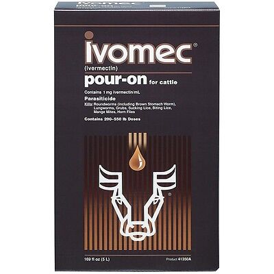 IVOMEC 1mg/ml - Anti-Poux, Puces, Tiques, Gale, Vers, Mites, Acariens, ... 10 ml