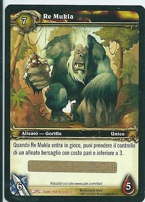 World of Warcraft Re Mukla LOOT CARD Unscratched New