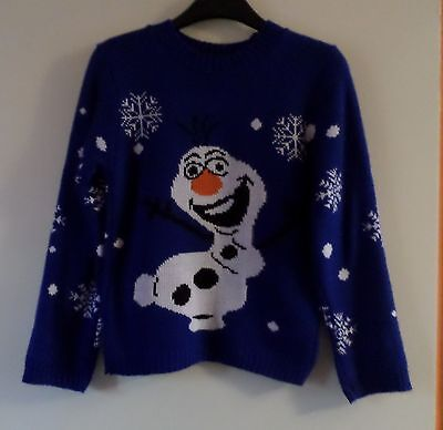 Children's: CHRISTMAS 'OLAF' JUMPER [13-14 Years]
