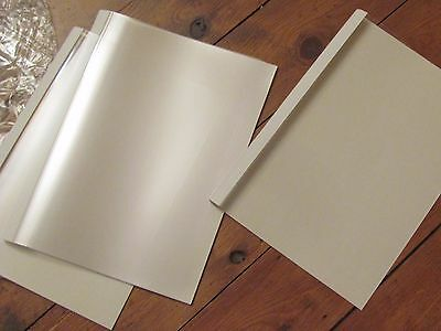 100 x Fellowes A4 White Thermal Binding Covers Box of 100  P/N  53152