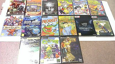 Small Bundle Of 15 PC/MAC Games (NEW & SEALED)  FREE P&P [17 Games] {PACK3}