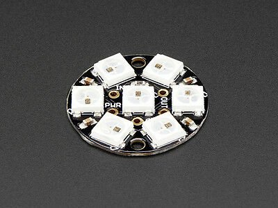 NeoPixel Jewel - 7x WS2812 5050 RGB LED with Integrated Drivers [2226]