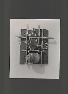 Original photo of a work of art by RICHARD TUTTLE 1985 in galleria Toselli
