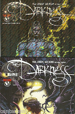 The Darkness Vol 2 #1 Holo Foil Variant & Standard Covers Nm/mint!!