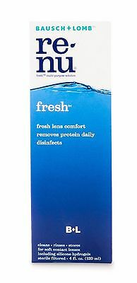 Bausch & Lomb Renu 120 ml Multi-Purpose Contact Lens Solution Brand New Sealed