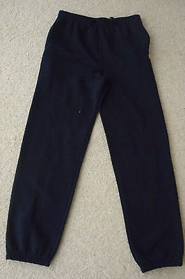 Girls Florence & Fred F&F Navy Jogging Bottoms Age 14-15 Years 170cm VGC