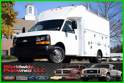 2006 Chevrolet Express Enclosed Utility Van 06 Chevrolet Express Cutaway Enclosed Utility Van 6.0L Vortec Gas Chevy GMC Used