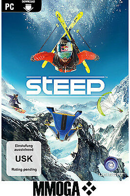 Steep Key - UPLAY Ubisoft Digital Download Code - PC Standard Spiel [DE][EU]