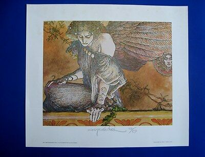 1981 Barry Windsor-Smith Sibyl Signed & Numbered Print 162/850  **rare**