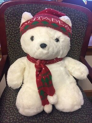 Vintage 1985 Santa Bear Dayton Hudson Original First Edition Plush