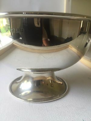 Solid Silver Rose Bowl Edwardian 1903