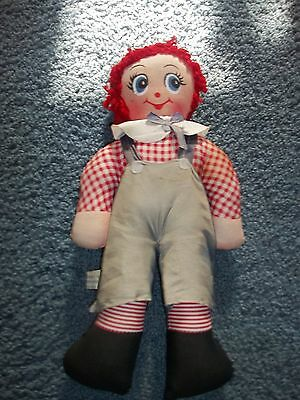 Vintage Raggedy Andy Ocean Toy Stuff Doll 14""