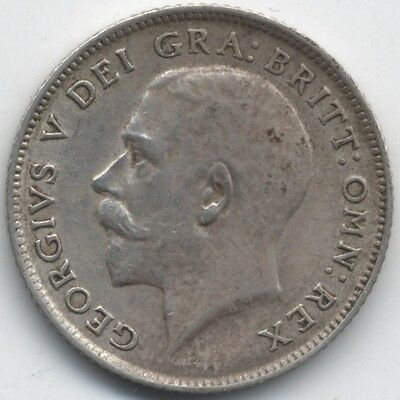 1915 George V Silver Sixpence***Collectors***(2)