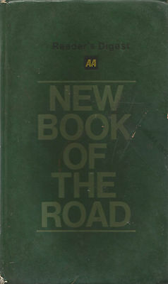 UK GB AA New Book of Road  revised 1983