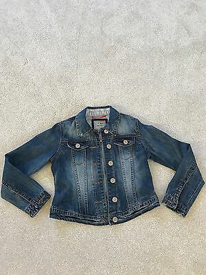 NEXT Girls Denim Jacket Age 9-10 Years