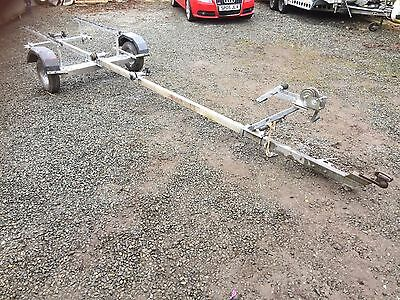 Boat trailer with winch good condition !