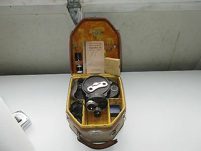 Vintage Bell & Howell Filmo 70 16MM Movie Camera - Accessories/Manual