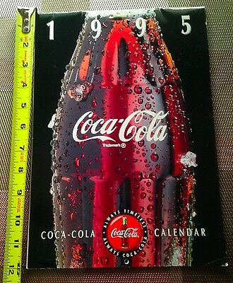 Coca-Cola 1995 Calendar - Great seasonal Coke prints