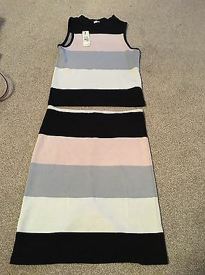 Bnwt River Island Girls Top And Skirt Age 9-10