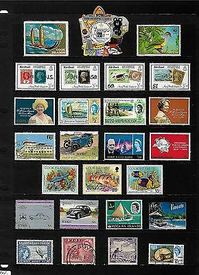 BR.COMMONWEALTH PACIFIC ISLANDS stamp selection.(ref.489)